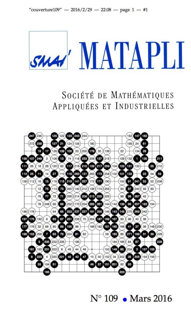 Matapli 109 Mars 2016