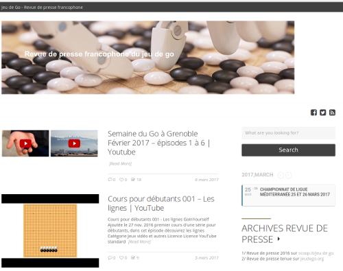 Jeu de Go.news