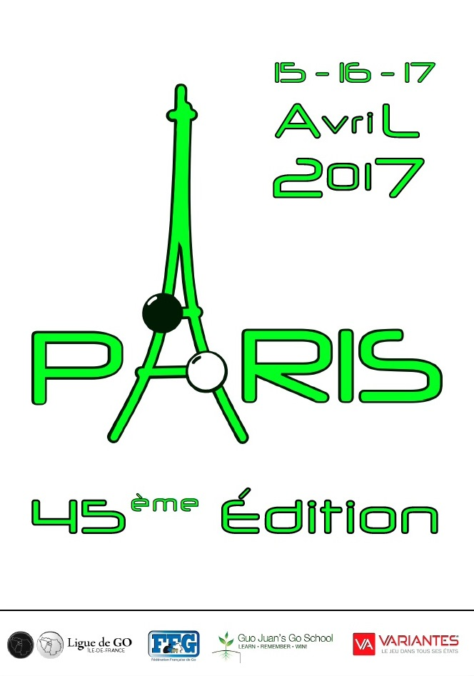 Tournoi de go de Paris 2017