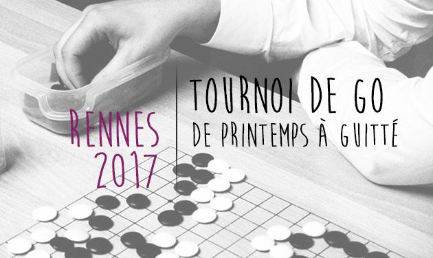 Tournoi de Go de Rennes 2017