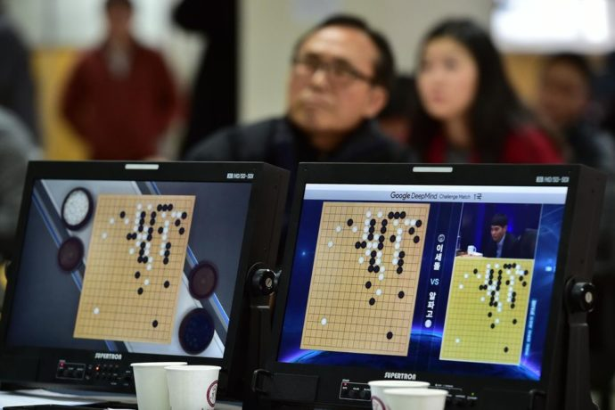 Lee Sedol Alphago AFP