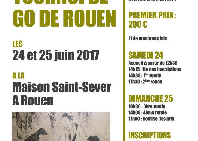 31ème Tournoi de Go de Rouen 2017