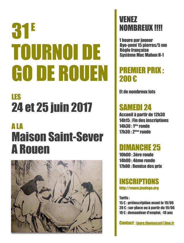 31ème tournoi de Rouen