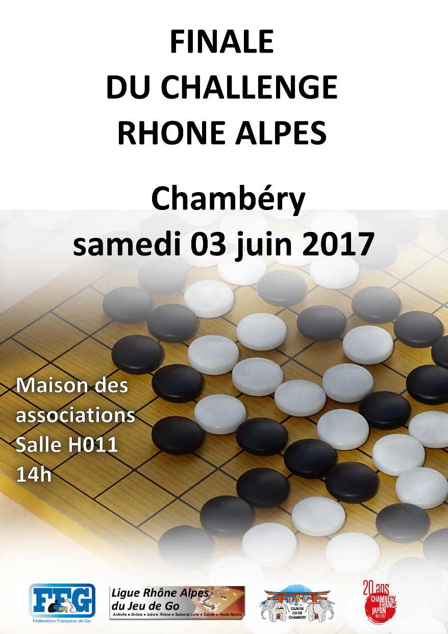 Finale du Challenge Rhone Alpes