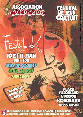 Kitani-Bordeaux-Club: Festiludik - 10 et 11 juin, place Belcier