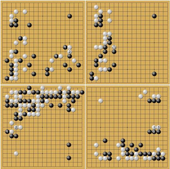 commentaires de In-Seong Hwang 8d sur les parties AlphaGo-AlphaGo