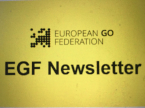 La newsletter (lettre d'information) de l'EGF en Français