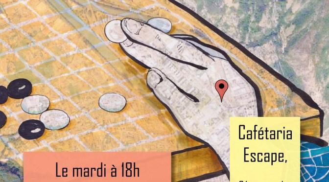 Nouveau RDV @ Escape | Le club de GO de Grenoble