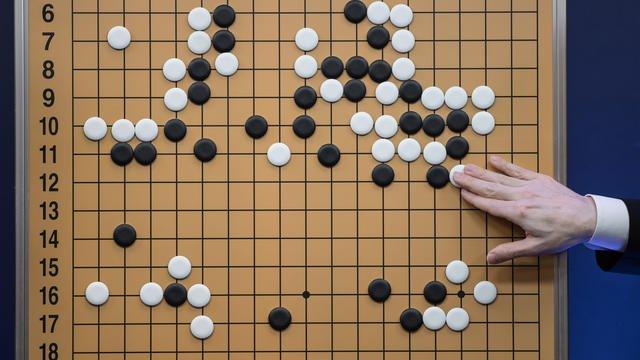 Le nouveau programme d'Alpha Go a été capable d'apprendre seul à jouer au jeu de Go.[ED JONES / AFP]