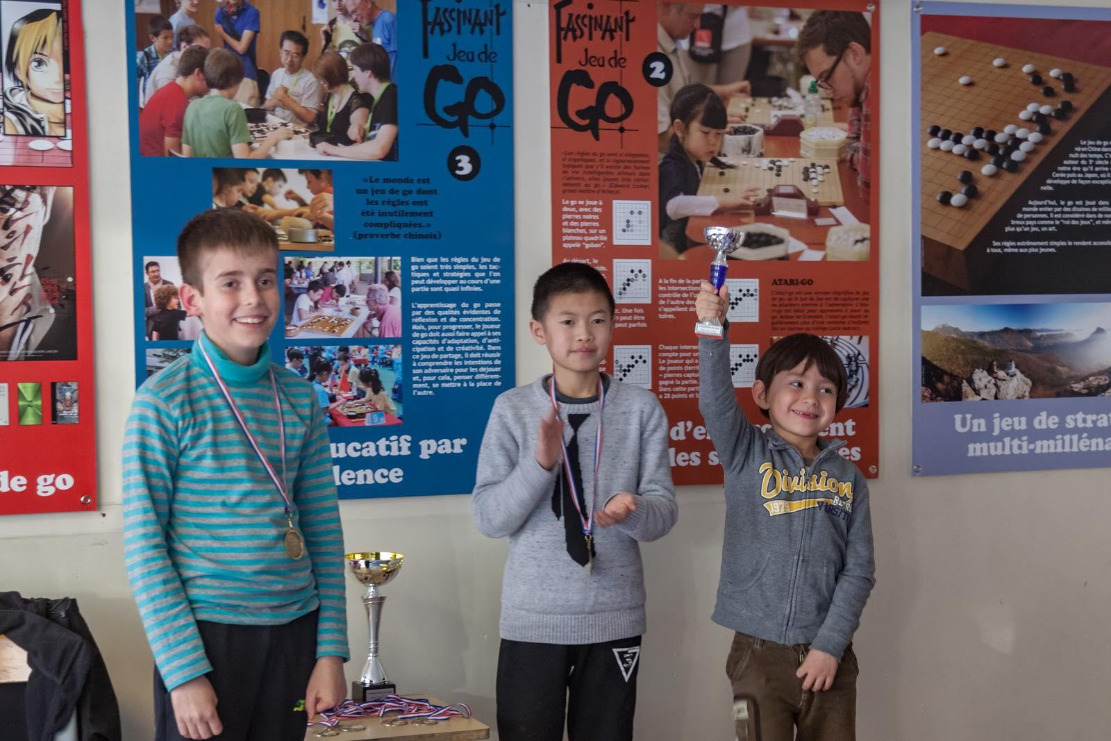 Les jeunes Rhône-Alpins à l'honneur | Le club de GO de Grenoble