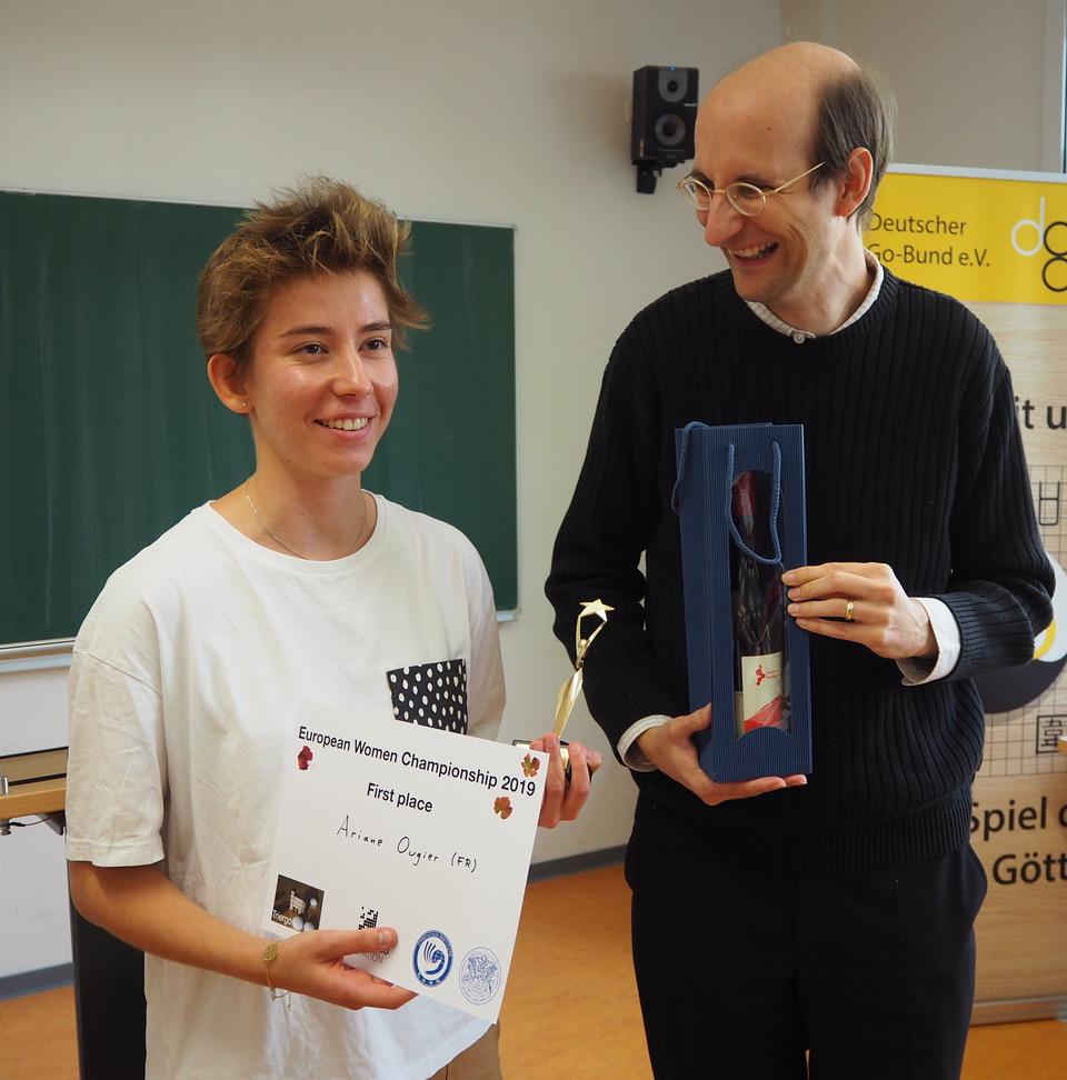 EWGC 2019 in Trier Ariane Ougier