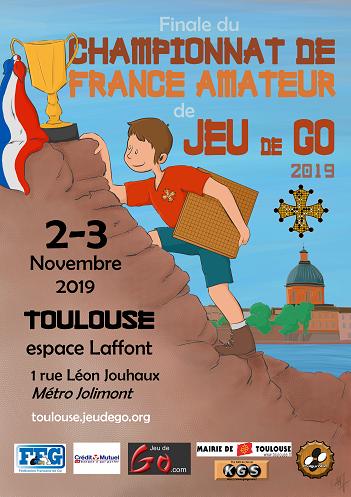 Finale championnat de France 2019 | 2-3 novembre | Club Go Seigen